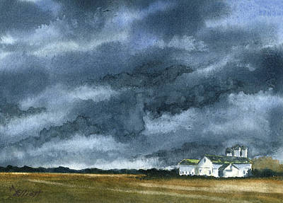 Storms Of Life Art Print by Marsha Elliott