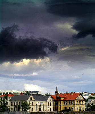 Photograph - Storms Over Reykjavik by Michael Canning