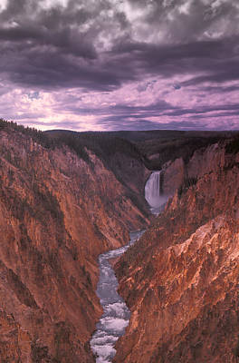 Raging Photograph - Stormy Canyon by Carson Ganci