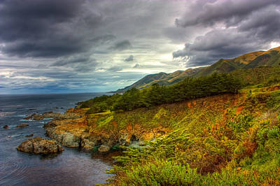Photograph - Stormy Coast by Matt  Trimble