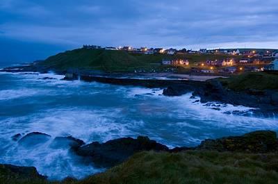 Stormy Coast, Scotland Art Print by Duncan Shaw