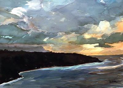 Stormy Day Art Print by Jon Shepodd