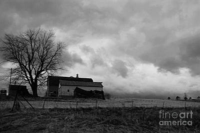 Photograph - Stormy Day On The Farm by Larry Ricker