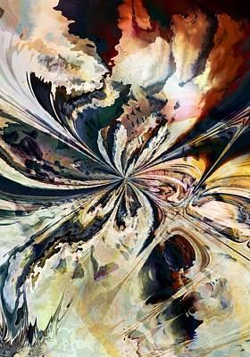 Digital Art - Stormy Gnarl by Connie Dye