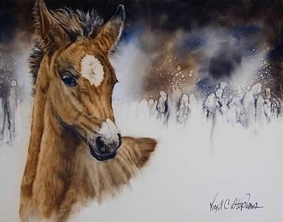 Virgil C Stephens Painting - Stormy Monday by Virgil Stephens