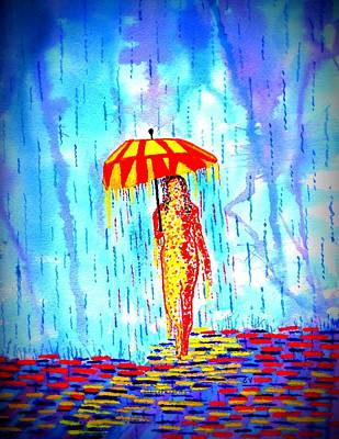 Stormy Mood 2 Art Print by Connie Valasco