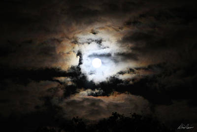 Photograph - Stormy Moon by Diana Haronis