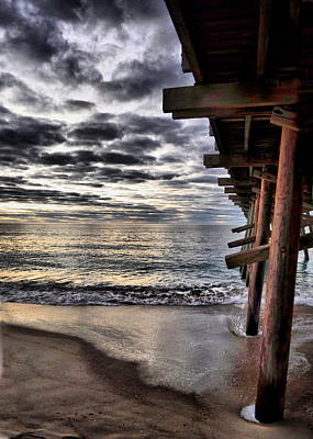 Photograph - Stormy Pier by Emily Stauring