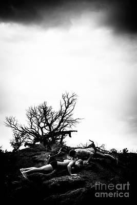 Photograph - Stormy Pushups by Scott Sawyer