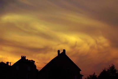 Photograph - Stormy Skies 1 by Rod Jones