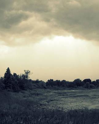 Photograph - Stormy Skies by Lora Mercado