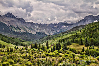 Photograph - Stormy Sneffles Range by Lana Trussell