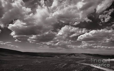 Photograph - Stormy Wyoming Sky by Donna Greene