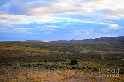 Photograph - Stormy Wyoming Sunrise I by Donna Greene