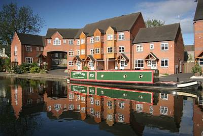Photograph - Stourport Mirror by Ed Lukas