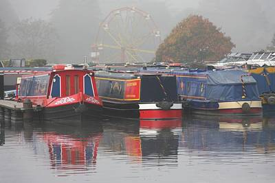 Photograph - Stourport Mists by Ed Lukas