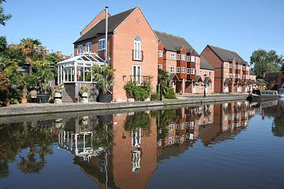 Photograph - Stourport Reflections by Ed Lukas