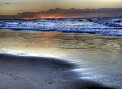 Photograph - Stradbroke Beach by James Mcinnes