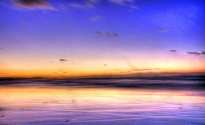 Photograph - Stradbroke Sunset by James Mcinnes
