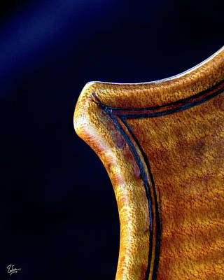 Photograph - Stradivarius Corner Closeup by Endre Balogh