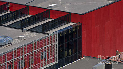 Architcture Photograph - Straight Line Design by Heiko Koehrer-Wagner