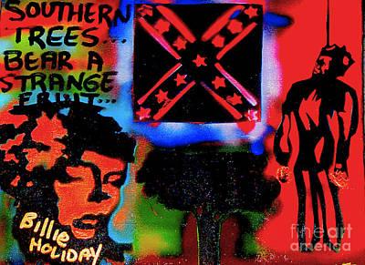 99 Percent Painting - Strange Fruit by Tony B Conscious