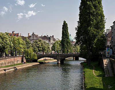 Photograph - Strasbourg River by Endre Balogh