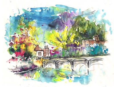 Stratford Painting - Stratford Upon Avon 03 by Miki De Goodaboom