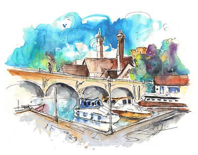 Stratford Painting - Stratford Upon Avon 04 by Miki De Goodaboom