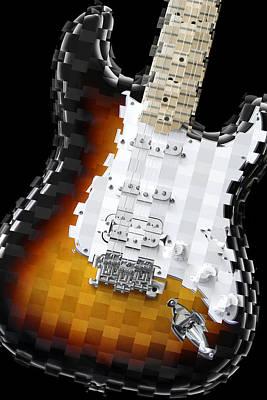 Imaginative Art Digital Art - Classic Guitar Abstract 2 by Mike McGlothlen