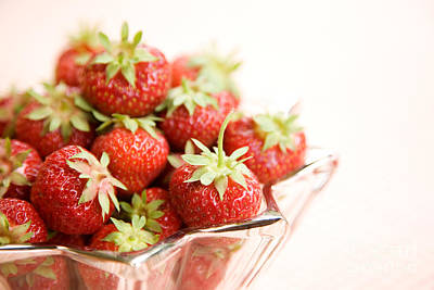Photograph - Strawberries by Kati Finell