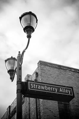 Strawberry Alley Art Print by Paul Bartoszek