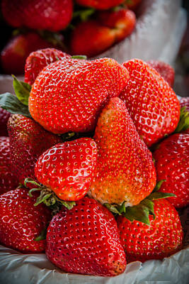 Photograph - Strawberry Delight by James Woody
