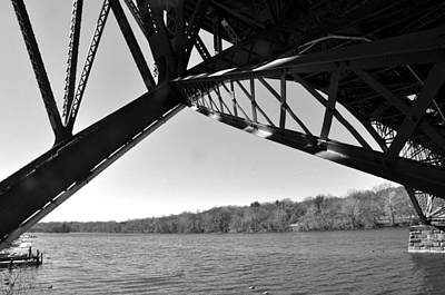 Photograph - Strawberry Mansion Bridge by Andrew Dinh