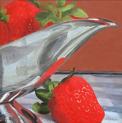 Painting - Strawberry Season by Lynne Reichhart