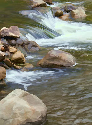 Art Print featuring the photograph Stream by John Crothers