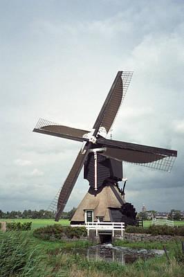Photograph - Streefkerk Windmill by Cornelis Verwaal