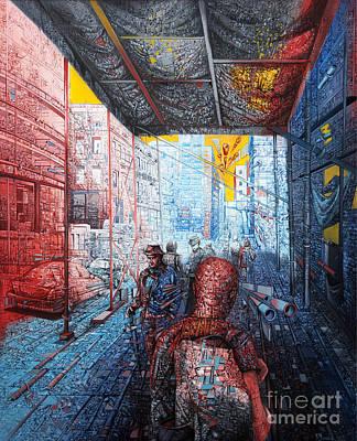 Street 2 Art Print by Bekim Mehovic