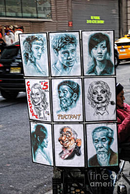 Street Art Nyc Art Print by Edward Sobuta