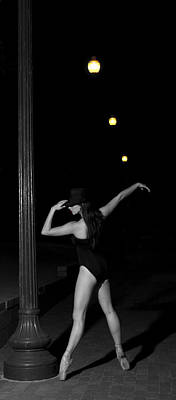 Street Ballet Art Print