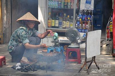Photograph - Street Chef by Marion Galt