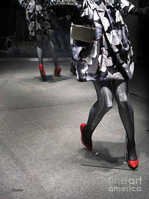 Photograph - Street Fashion by Eena Bo