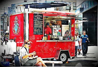 Photograph - Street Food by Lauren Williamson