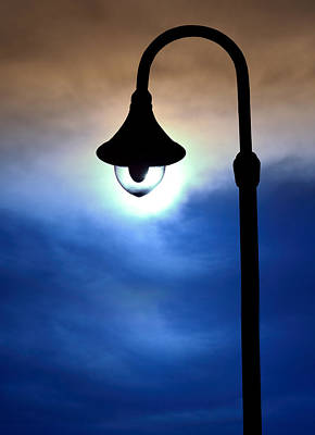 Street Lamp Original by Singkham
