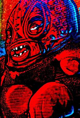 Digital Art - Street Monster by Randall Weidner