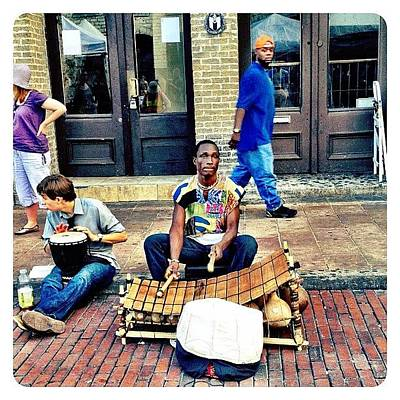 Musicians Photograph - Street Music by Natasha Marco