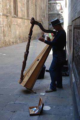 Street Muscians Wall Art - Photograph - Street Musician by Brenda Flynn