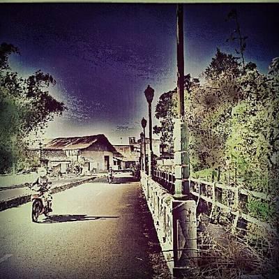 Pathway Photograph - #street #pathway #bridge #bush by Vika Klaretha Dyahsasanti