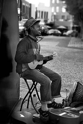 Photograph - Street Performer by Gray  Artus