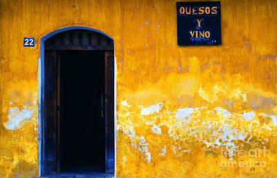 Street Scene La Antigua Art Print by Thomas R Fletcher